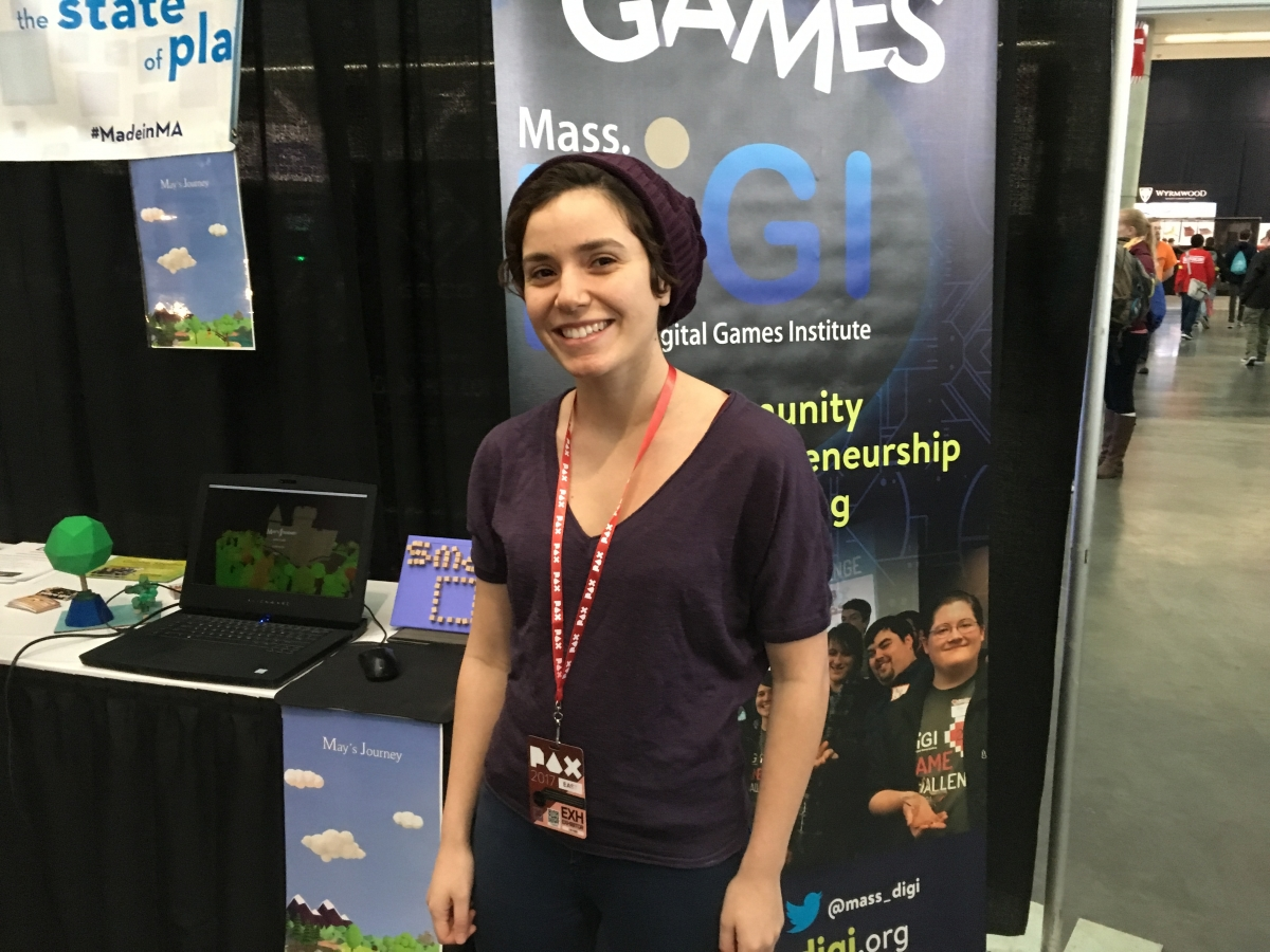 Game Challenge '17 winner at PAX East